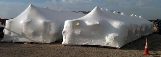 custom shrink wrapped enclosures