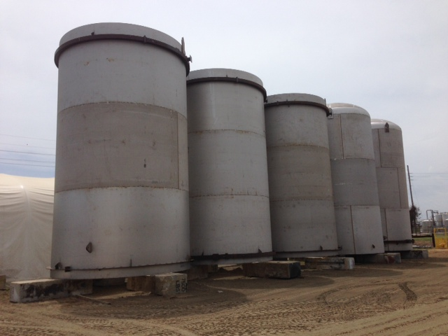 Five tanks about to get a professional wrap job
