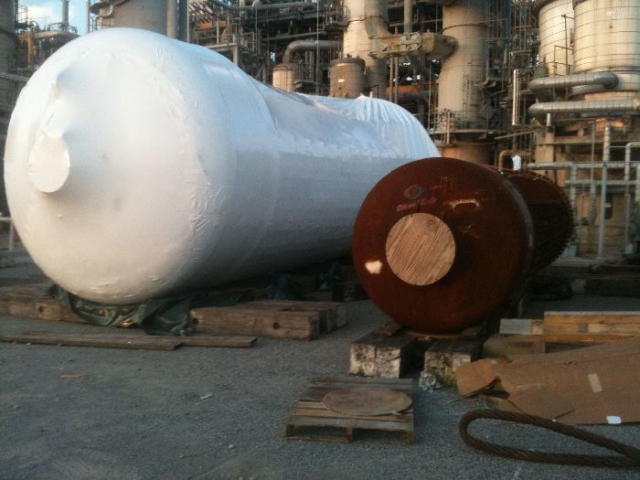 Industrial plant wrapping service