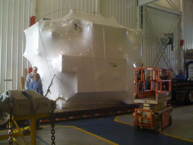 Asset Protection Wrapped Ready For Shipping